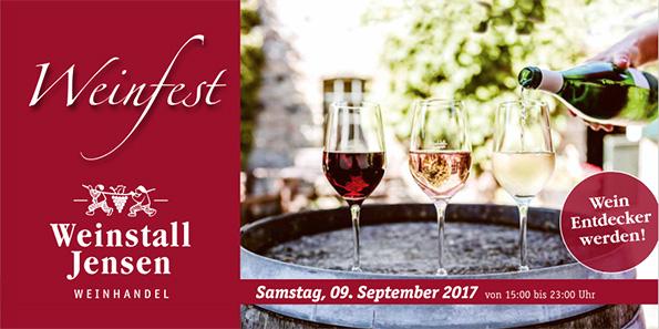 Weinstall Jensen - Weinfest 2017